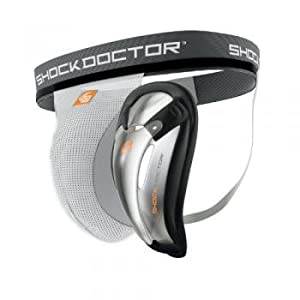 Shock Doctor Men's Supporter with BioFlex Cup (Medium)