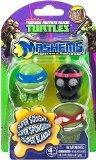 Nickelodeon, Teenage Mutant Ninja Turtles, Mash'ems Series 1, Leonardo and Foot Soldier, 2-Pack