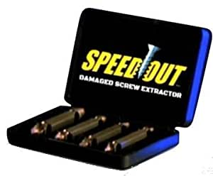 Speedout Damaged Screw Remover Set of 4