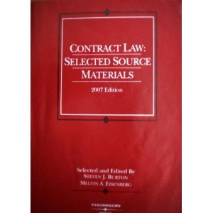 Contract Law: Selected Source Materials (American Casebook)