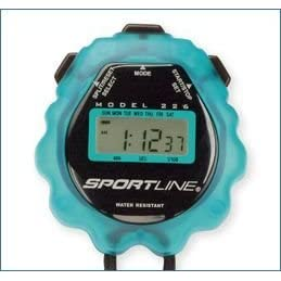 <b>226 Gel Sports Timer - Color: Ice Blue</b>