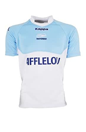 Maillot AVIRON BAYONNAIS - Collection officielle - Kappa - BAYONNE - TOP 14 - Taille adulte