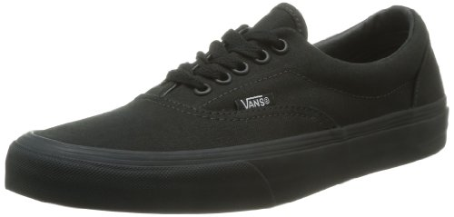 Vans U ERA Sneaker, Unisex adulto, Nero (Black/Black), 43