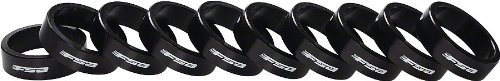 "Fsa Bag Of 10 1-1/8""X10Mm Headset Spacers Black Alloy With Logo"