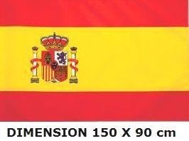 *** PROMOTION *** Drapeau Espagne - 150 x 90 cm