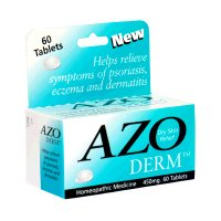 Buy Azo Derm Dry Skin Relief 450 mg Tablets - 60 Tablets (Azo, Health & Personal Care, Products, Health Care, Pain Relievers, Alternative Pain Relief)