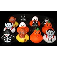 Halloween Rubber Ducks - Set of 12 Duckies/Ducky/Duckie from Rhode Island Novelty