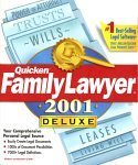 Intuit Quicken Family Lawyer 2001