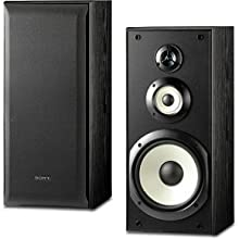 Sony SS-B3000 Bookshelf Speakers with 8-Inch Woofer Pair Black
