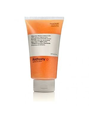 Best Cheap Deal for Anthony Logistics for Men Facial Scrub 8 oz (237 ml) by Anthony Brands - Free 2 Day Shipping Available