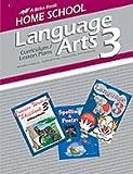 Language Arts 3 (Home School Curriculum, Curriculum/ Lesson Plans)