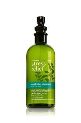 Bath & Body Works Aromatherapy Eucalyptus Spearmint Stress Relief Pillow Mist 5.3 Oz Bath Body Linen
