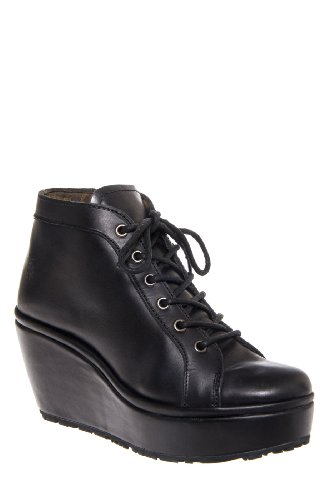 Fly London Poss High Wedge Bootie
