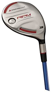 Adams Golf RPM Low Profile Fairway Wood (Men's LH, 21 degree, Standard, Green NV Regular Flex)