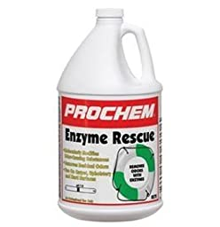 Prochem - Enzyme Rescue - Modifies Odor Causing Molecules with Enzymes - Odor Neutralizing - Concentrate - 1 Gallon - B272