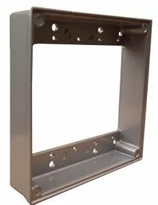 Morris 36512 2 Gangs Weatherproof Extension Ring Electrical Boxes