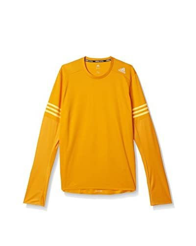 adidas Camiseta Manga Larga RS Long Sleeve M Naranja / Dorado