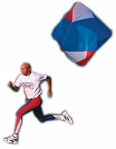 POWER FITNESS PARACHUTE - LARGE - BEST TRAINING PARACHUTE ON THE MARKET! USED BY THE PROS FOR SPEED TRAINING!