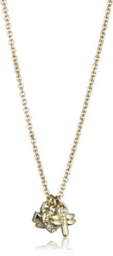Dyrberg/ Kern Damen-Halskette Pohndalos Sg/Crystal 45cm 331977