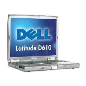 Dell Latitude D610 14 Laptop (2.00GHz Centrino Processor, 1 GB RAM, 40 GB Hard Drive, DVD/CD-RW Combo Drive)