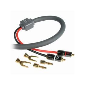 Cables To Go 38070 10 AWG SonicWave Speaker Cable (10 Feet, Gray)