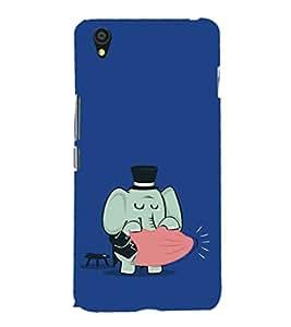 EPICCASE Funny elephant Mobile Back Case Cover For OnePlus X (Designer Case)