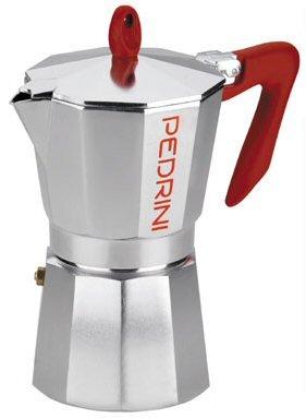 Pedrini: 6-Cup Coffee Machine [ Italian Import ]