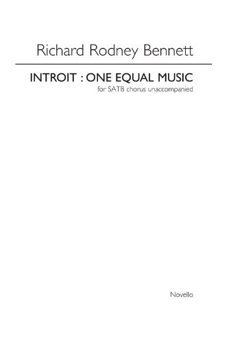 one-equal-music-satb-vocal-score