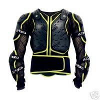 acerbis koerta offroad body armour jacket l/xl