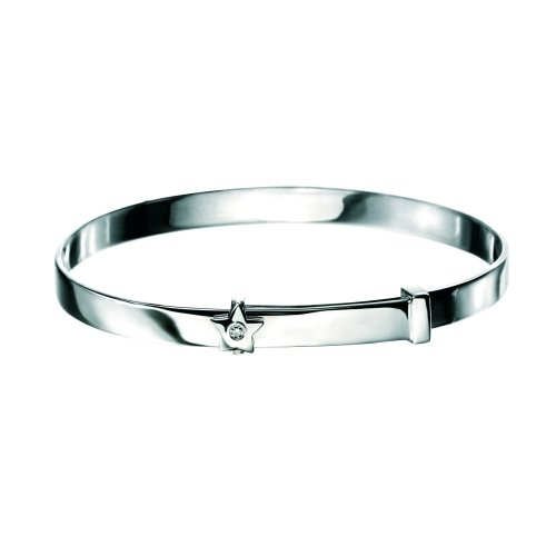D for DIAMOND Star Baby Bangle