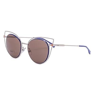 Sunglasses Fendi 176/S 03YG Lgh Gold / UT dark brown lens