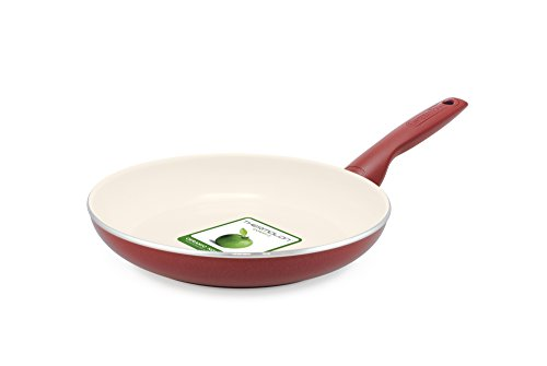 GreenPan Rio 12 Piece Ceramic Non-Stick Cookware Set, Burgundy