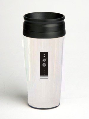 16 oz. Double Wall Insulated Tumbler with solar system - Paper Insert