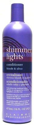 Clairol Shimmer Lights 16 oz. Conditioner (3-Pack) with Free Nail File
