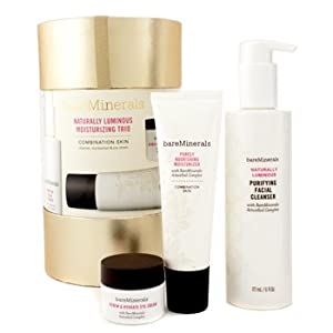 Naturally Luminous Moisturizing Trio (Combination Skin): Facial Cleanser + Moisturizer + Eye Cream - 3pcs