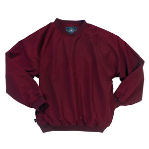Athletic - Wind Shirt and Water Resistant, Maroon by Charles River Apparel