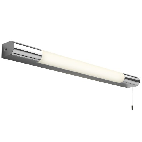 Astro 0781 T5 Palermo 600 Switched Wall Light including 1 x 14 Watt T5 Fluorescent Tube, Chrome