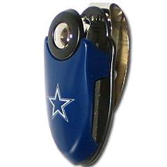 NFL Football Dallas Cowboys Automoble Visor Clip by Siskiyou