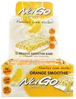 NuGo Nutrition NuGo To Go Orange Smoothie -- 15 Bars