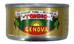 Genova Tuna In Olive Oil, 85G (3Oz)