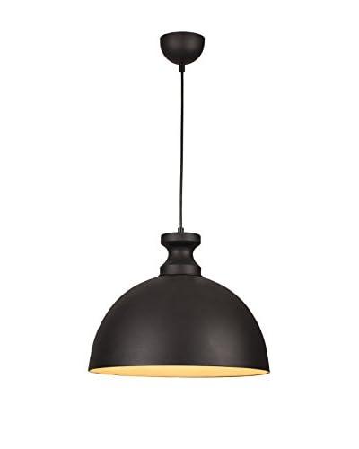 Homemania Lámpara De Suspensión Pendant Negro