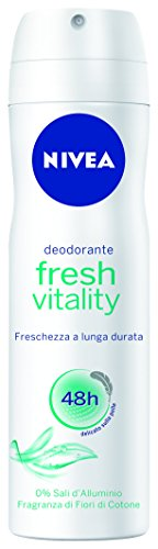 Nivea Deodorant Donna Fresh Vitality Spray 150Ml