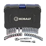 Kobalt 40-Piece Standard/Metric Mechanics Tool Set with Case