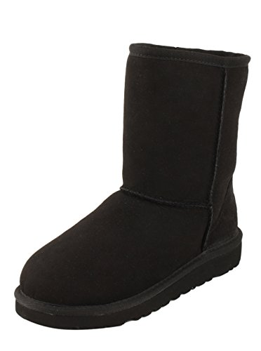 Kids UGG Australia Classic Short Black - 3 (Uggs Kids Classic Tall compare prices)