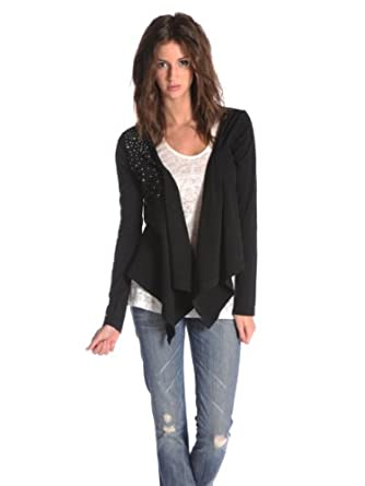 Black Sheep Womens Catalina Cardi - Black - Small