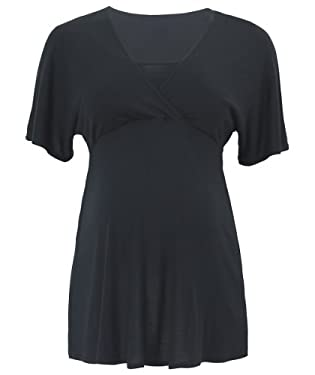 Maternity Cap Sleeve Nursing Top