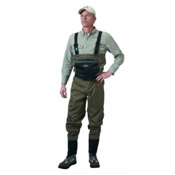Caddis Wading Systems Caddis Men's Taupe Affordable Breathable Stocking Foot Wader, Large