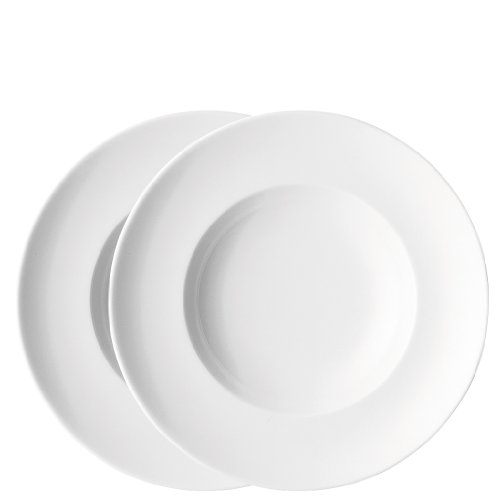 Thomas Assiette à pâtes Blanc Lot de 4