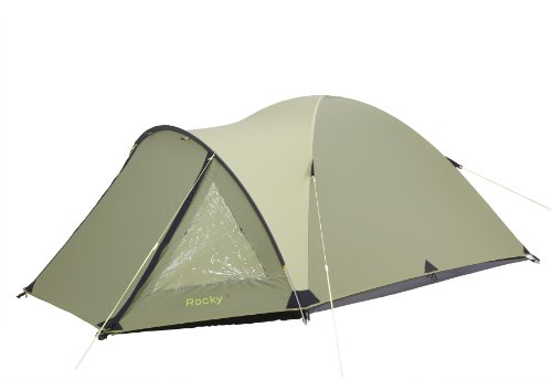 Gelert Rocky 3 Person Tent - Calliste Green/Sweet Pea/Charc