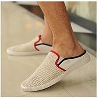 ローファー 紳士靴 スリッポン フラットシューズ バイカラー メンズ 春夏 カラバリ4色 cl404-nx01